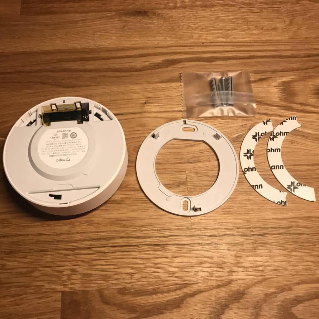 Detector de alarma contra incendios Honeywell