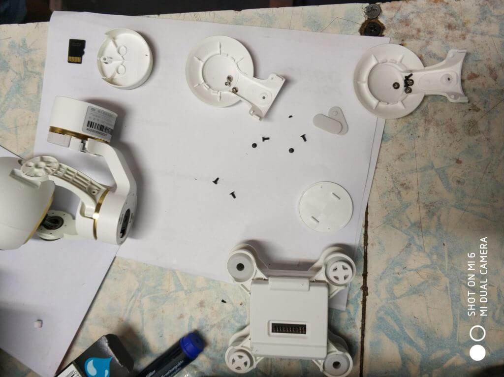 Xiaomi drone 4k gimbal