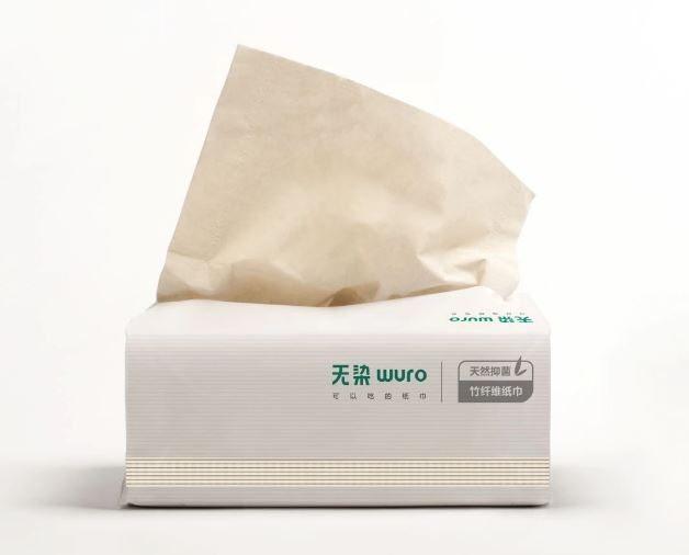 Tisu bambu antibakteri Wuro