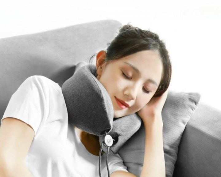 Neck pillow for massage