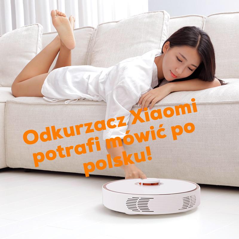 Пылесос Xiaomi и Roborock могут говорить по-польски!