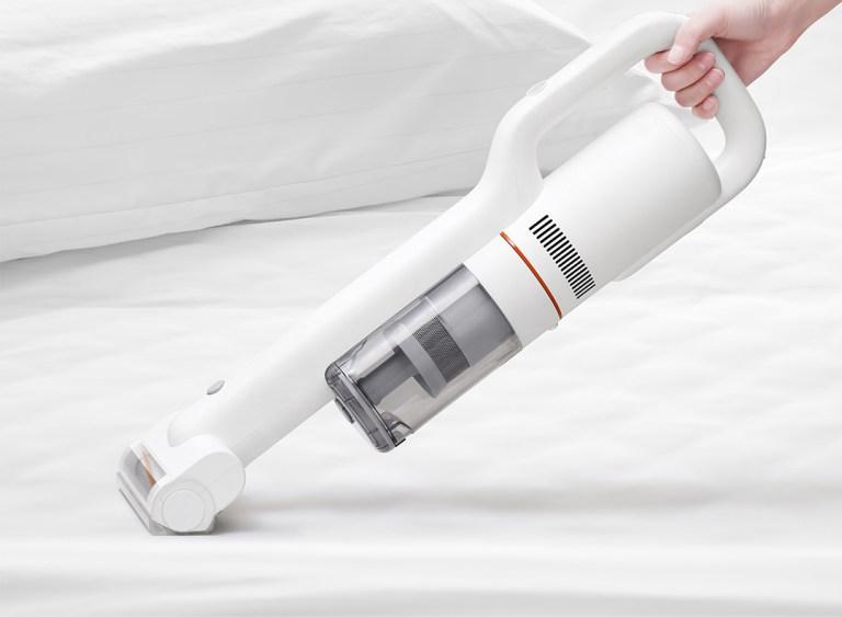 Hand-held cordless Xiaomi vacuum cleaner
