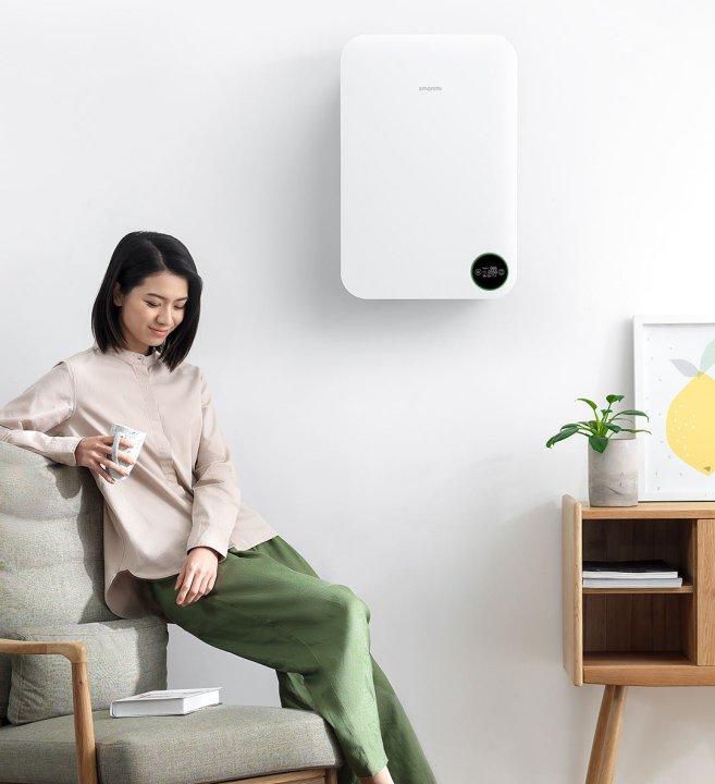 Système d'air frais de Xiaomi Mijia Smartmi fixé au mur