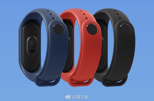 Άλλα χρώματα των ζωνών Xiaomi Mi Band 3