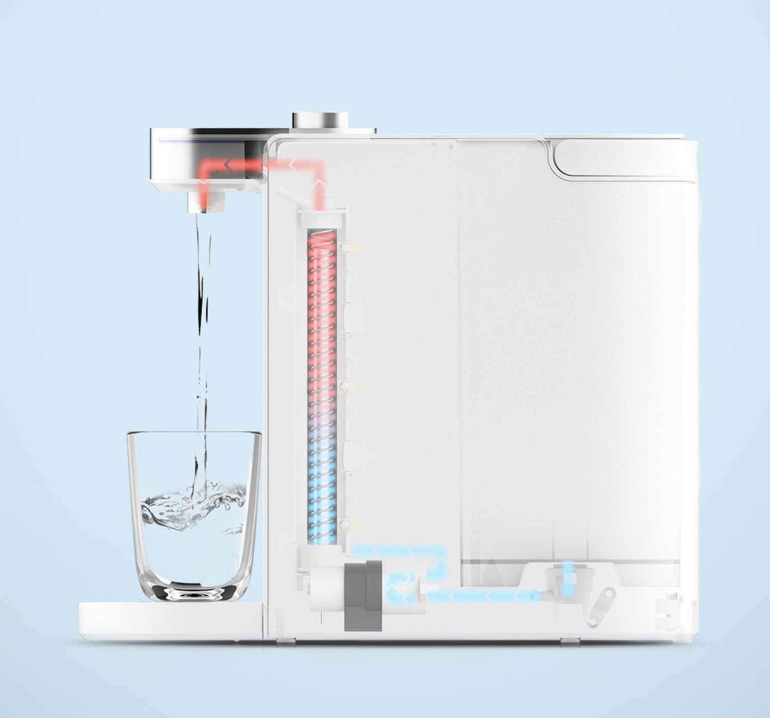 Scishare water heater