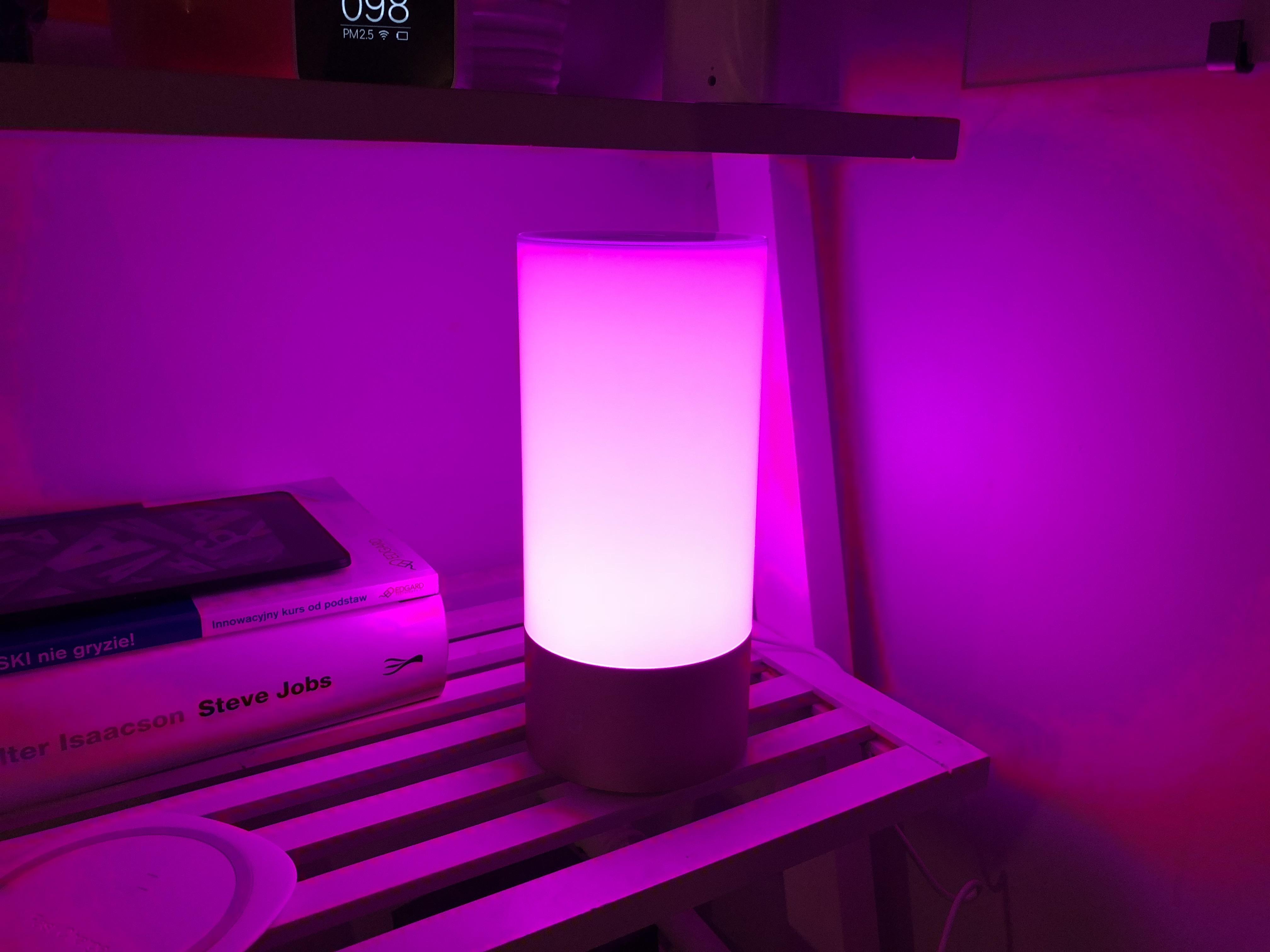 Xiaomi lampada da comodino wifi sveglia all alba