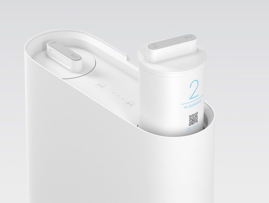 xiaomi mijia mi wasserfilter 1a ein schlanker wasserfilter. Black Bedroom Furniture Sets. Home Design Ideas