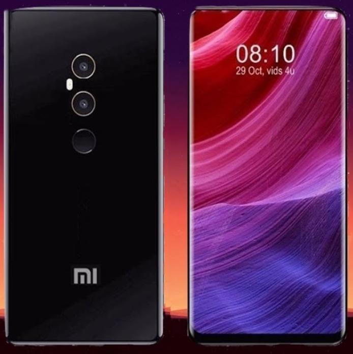 Изображение просочилось Xiaomi Mi Mix 3