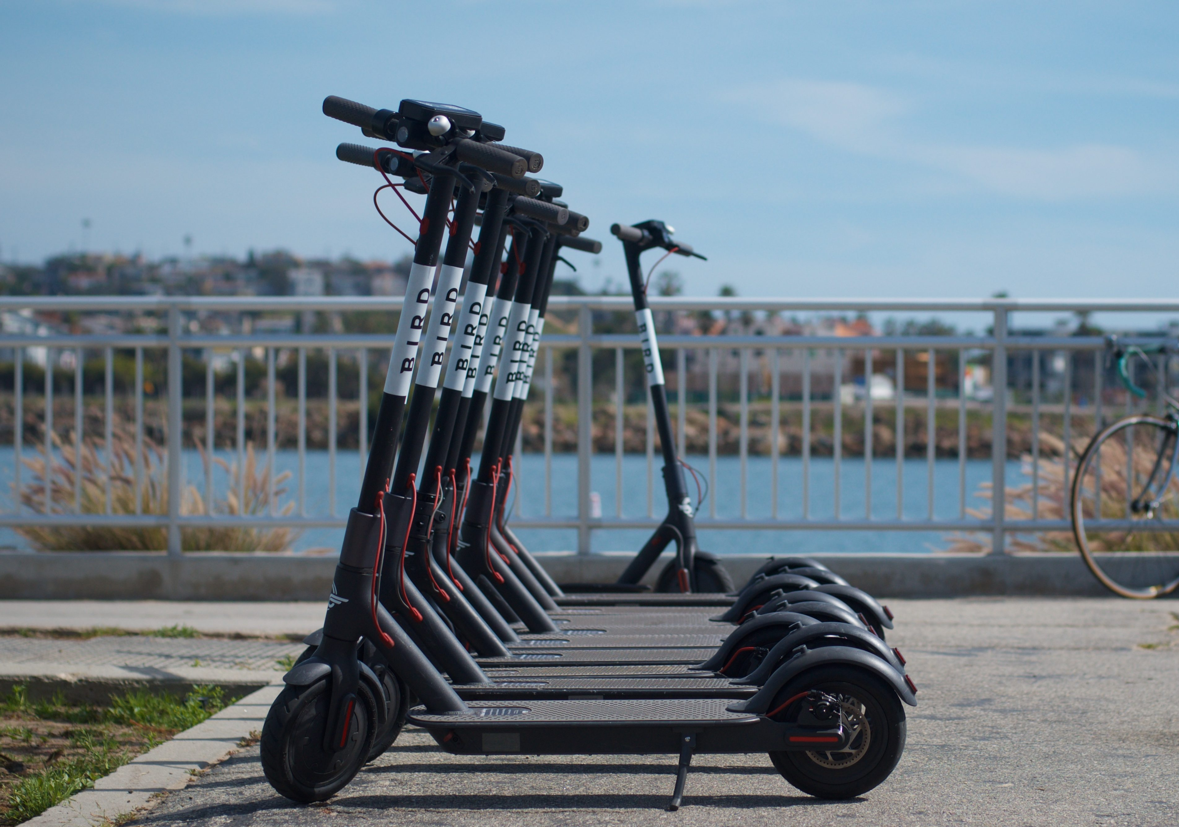 There are city bikes to rent in Poland and Xiaomi scooters in the US