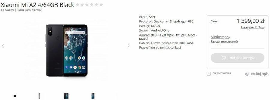 The Xiaomi Mi A2 will also be in the Lite version