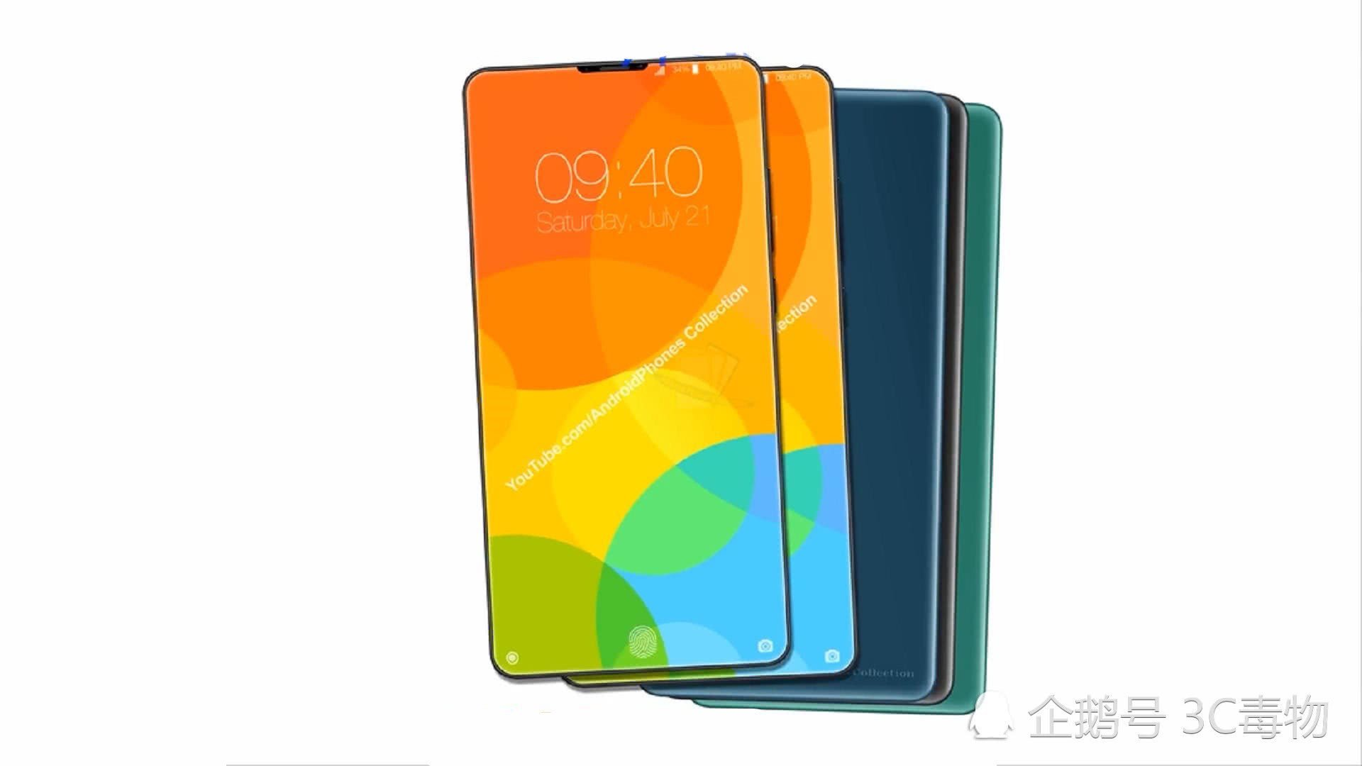 Mysterious smartphone Xiaomi with triple lens and Snapdragon 855