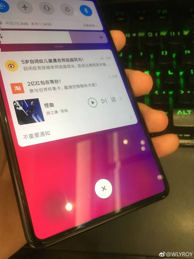 раздзел Xiaomi Mi Mix 3 4