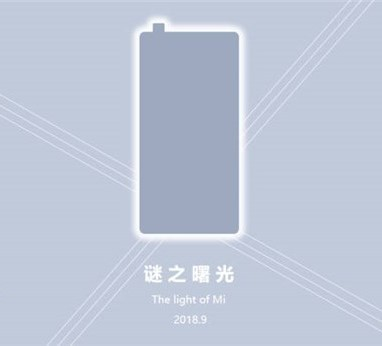 Xiaomi Mi Mix 3 pada bulan September?