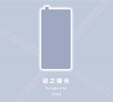 Xiaomi Mi Mix 3 en septiembre?