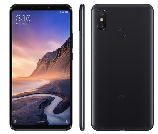 Xiaomi Mi Max 3 officiellement