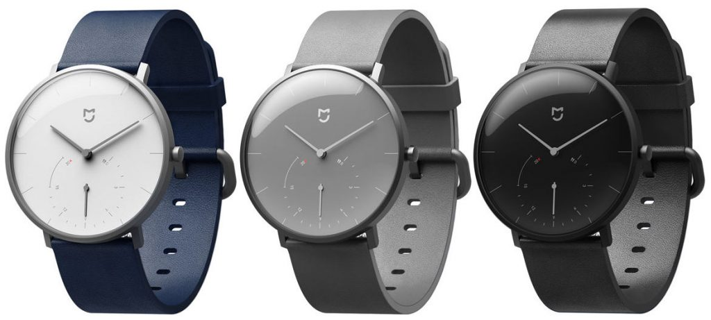 Xiaomi presents a quartz watch with smart functions
