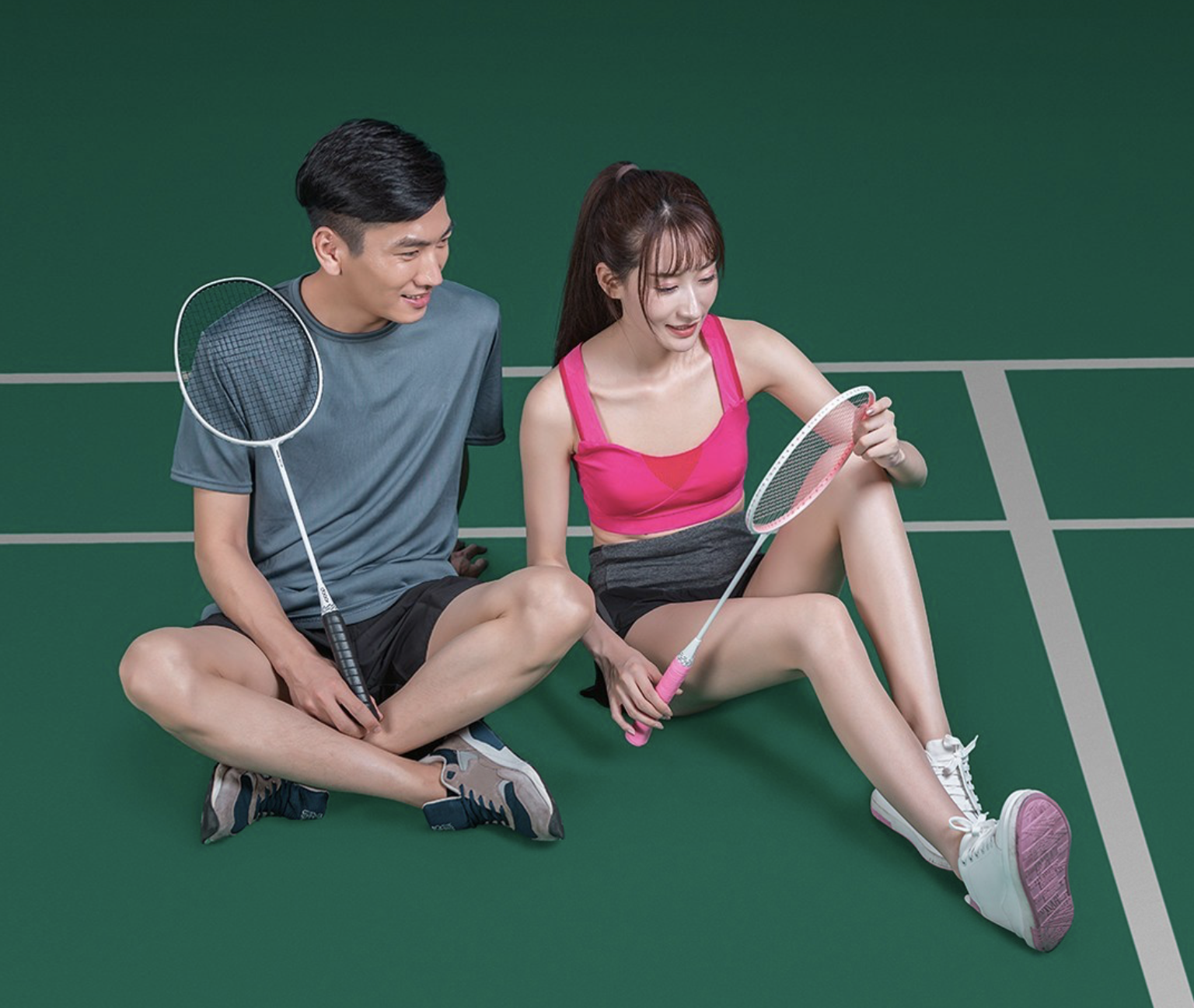 Badminton racket from Xiaomi and Dooot