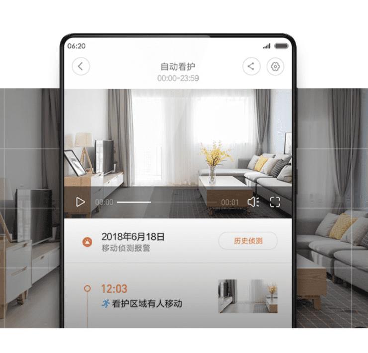 nową inteligentną kamerę IP Xiaomi Mijia 1080P