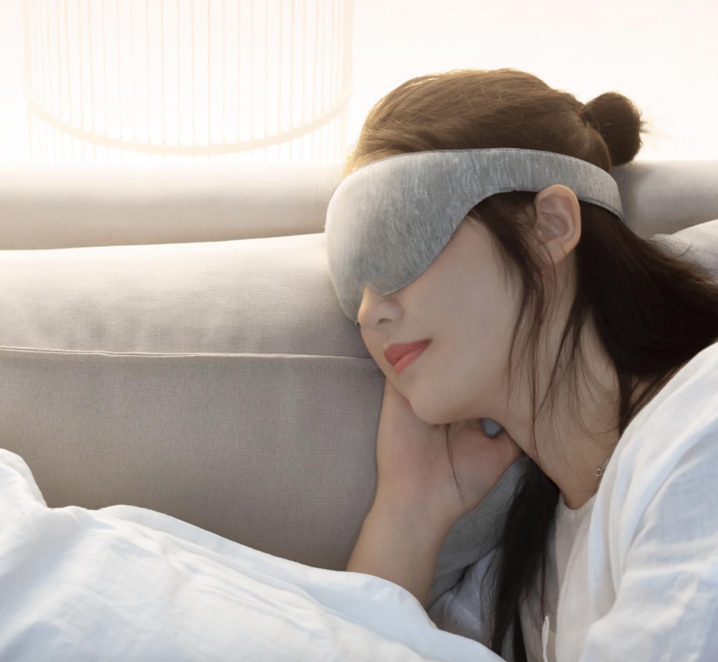 Óculos que proporcionam aos olhos um momento de relaxamento