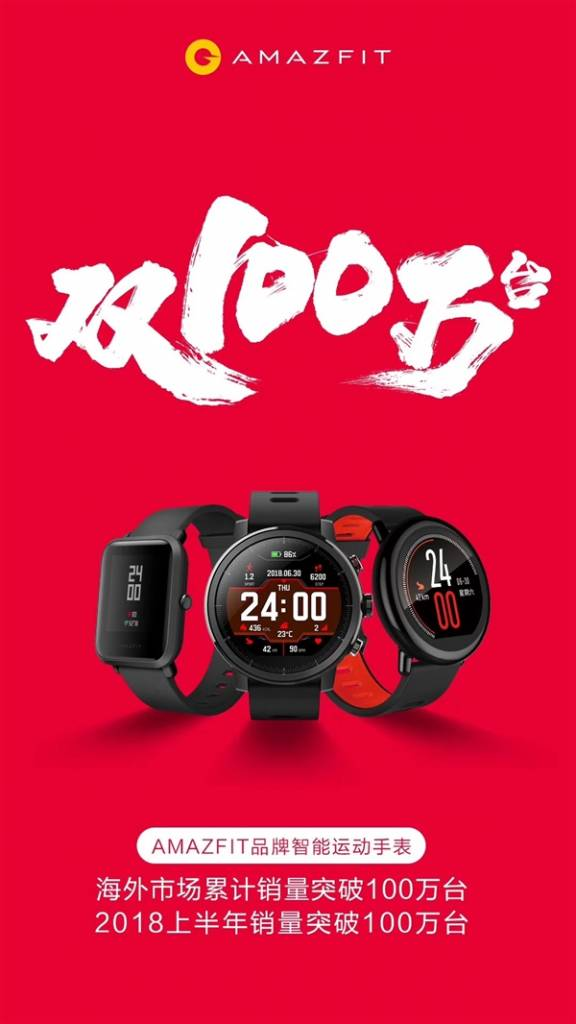 Amazfit with a record sales result