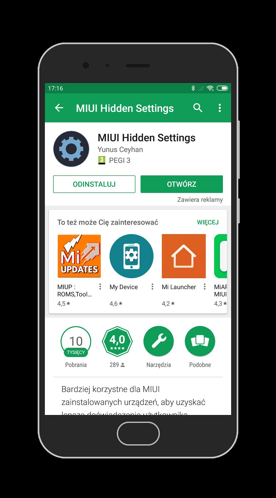 XDA стварыў прыкладанне, якое дазваляе атрымаць доступ да ўтоеных магчымасцях ў мабільным Xiaomi