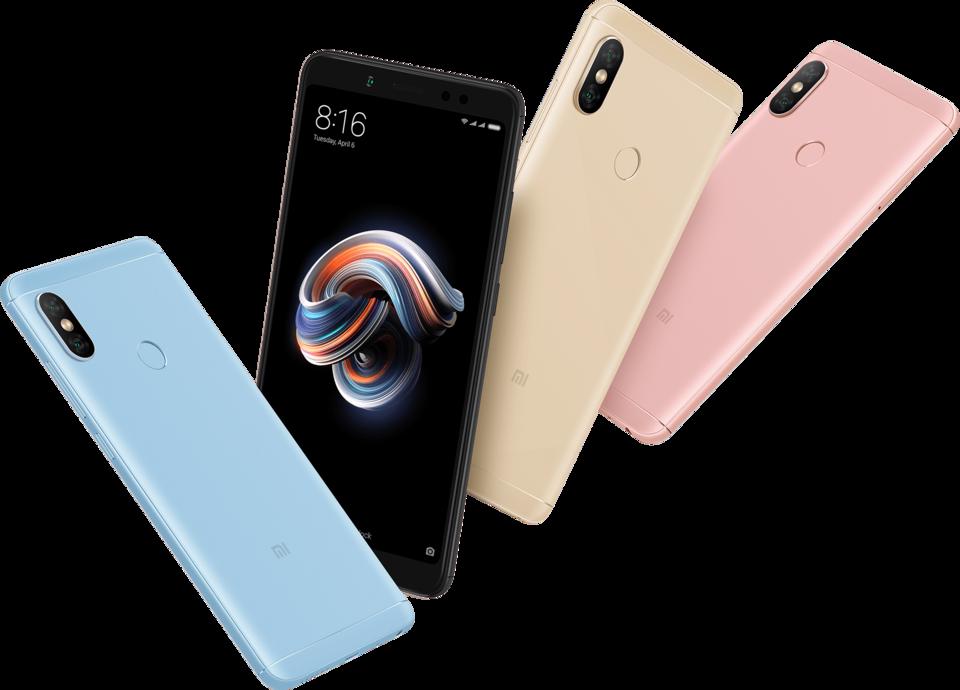Xiaomi Samsung'a hitap ediyor ve Güney Kore'de Redmi Note 5 telefonunu sunuyor