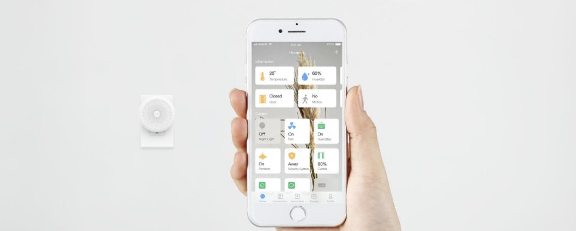 Casa inteligente da Xiaomi que serve o Apple Homekit disponível para compra!