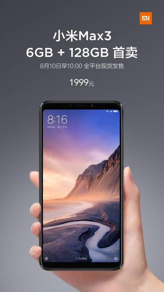 Xiaomi Mi 3 6 / 128GB