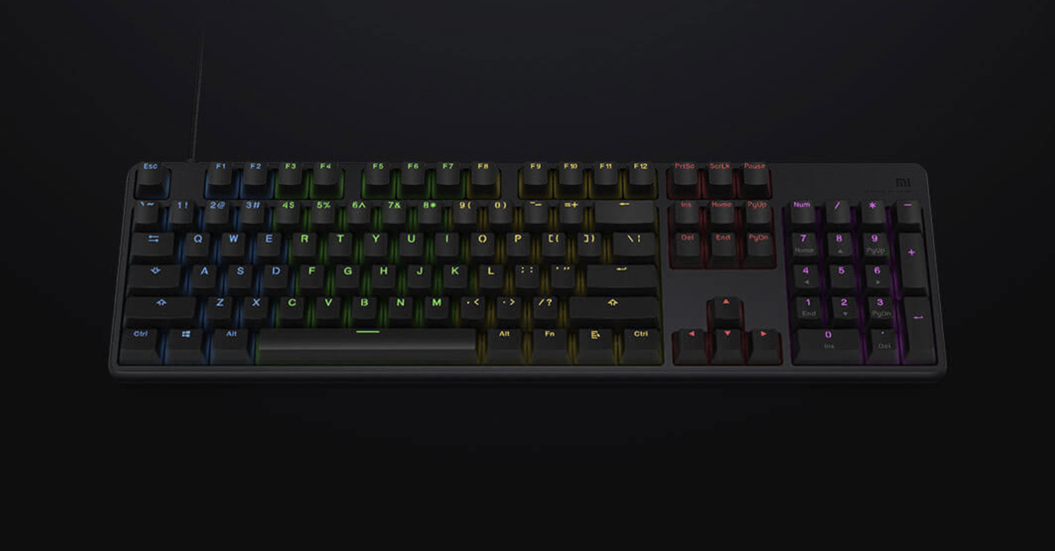 Keyboard for players from Xiaomi