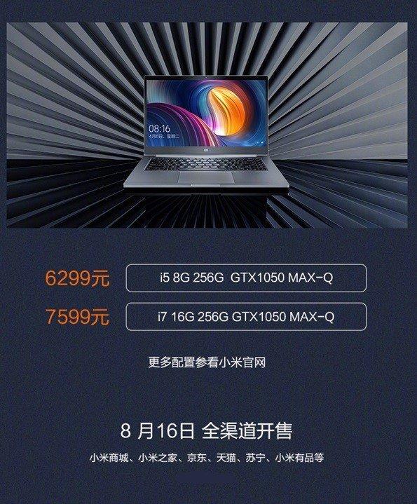 Мы Xiaomi Notebook Pro 2