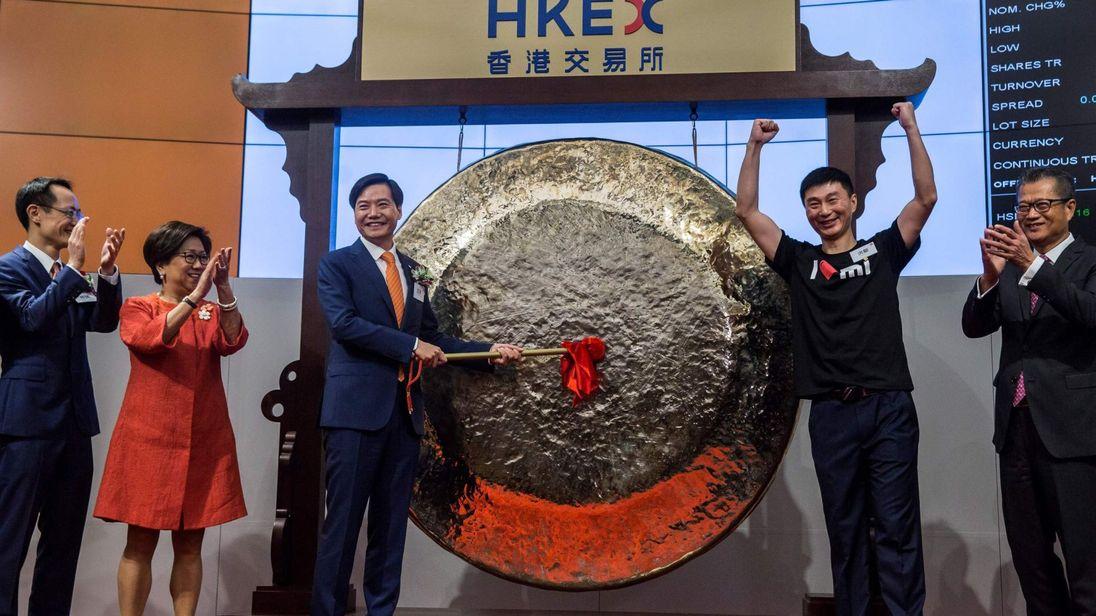 En los últimos días, las acciones de Xiaomi han estado cayendo