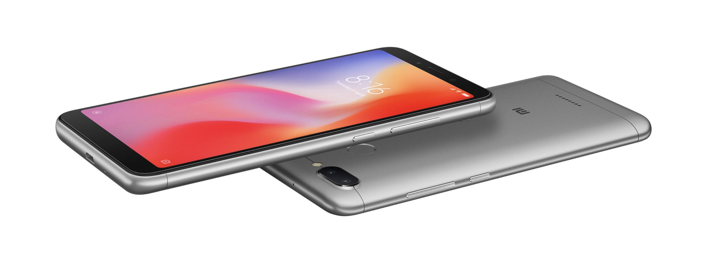 Xiaomi Redmi 6 a 6A jsou v prodeji ve Španělsku