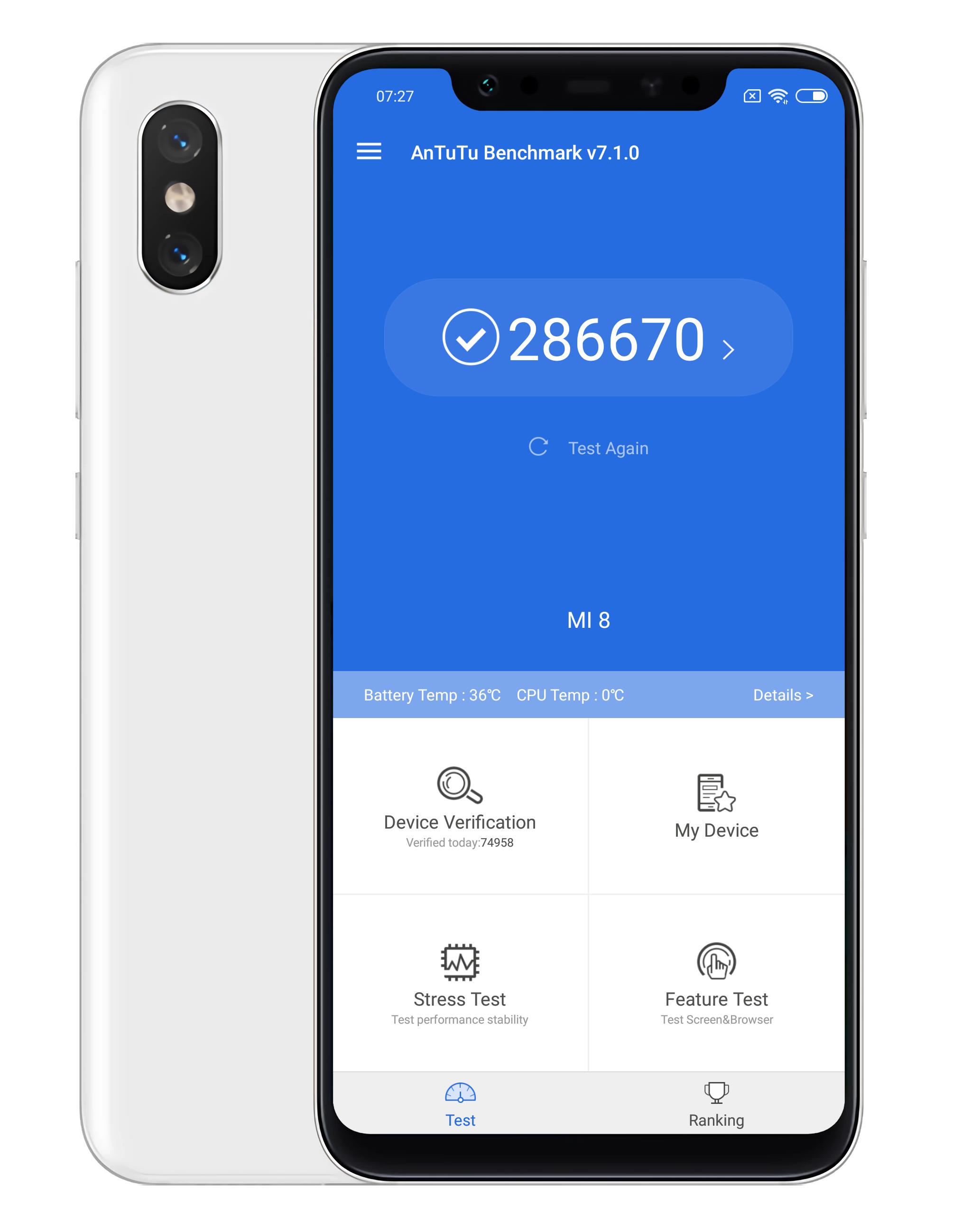 Xiaomi Mi 8 recension