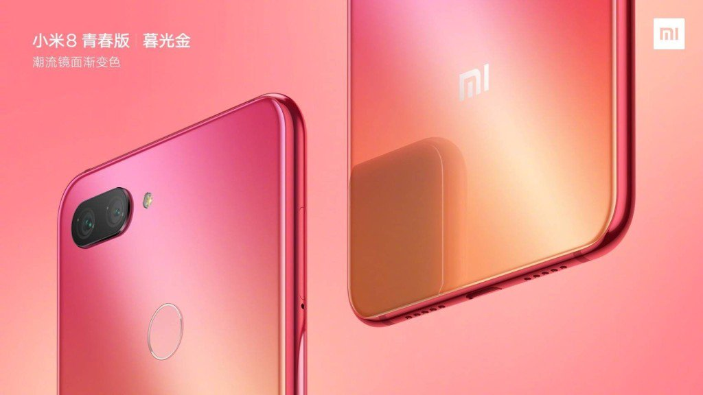 The new poster Xiaomi Mi 8 Youth Edition refers to the iPhone Xs