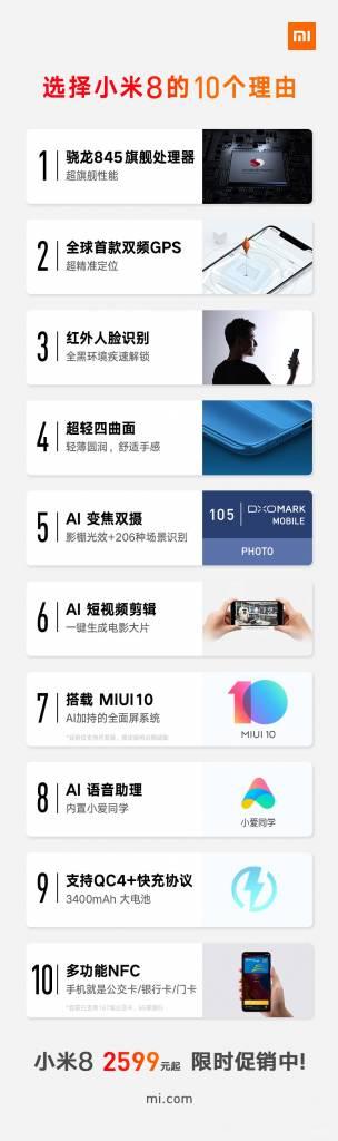10 razlozi zašto biste trebali kupiti Xiaomi Mi 8