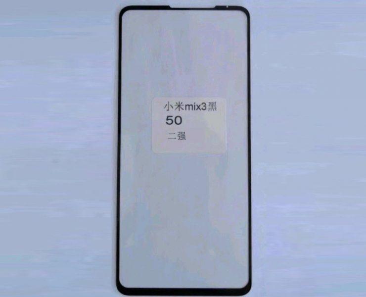 Ekran Xiaomi Mi Mix 3 dostrzeżony na zdjęciach