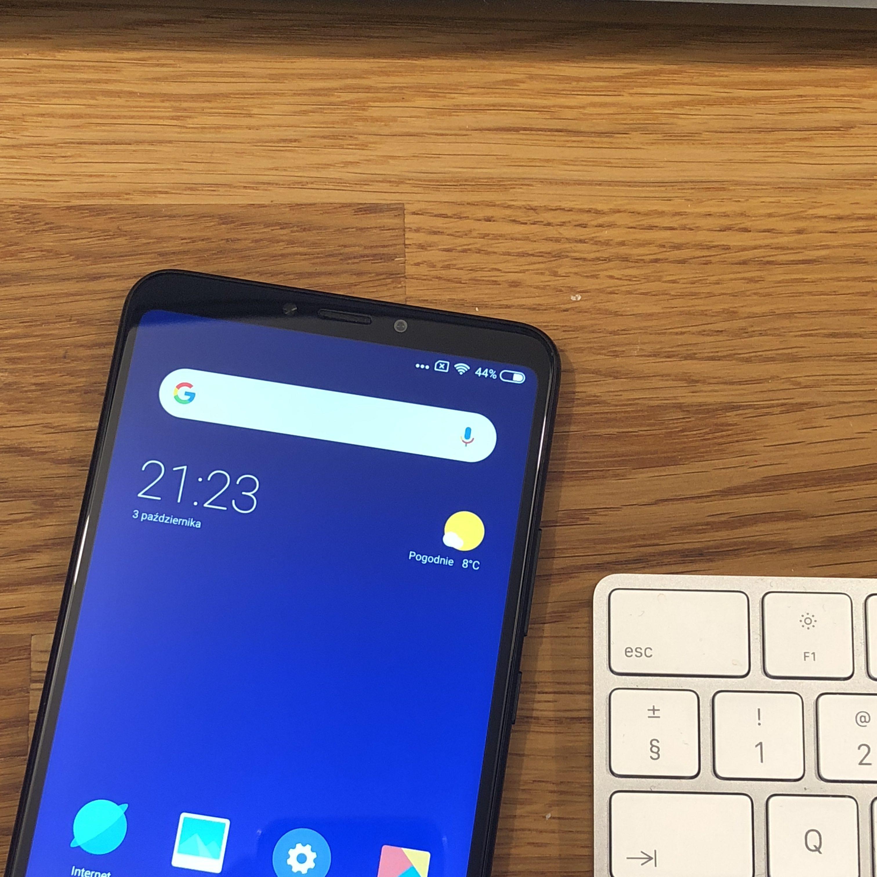 Xiaomi Mi mAx 3 look