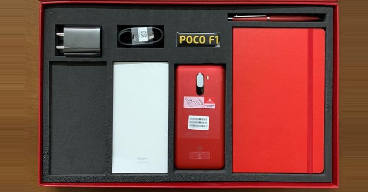 Pocophone F1 sẽ có màu đỏ