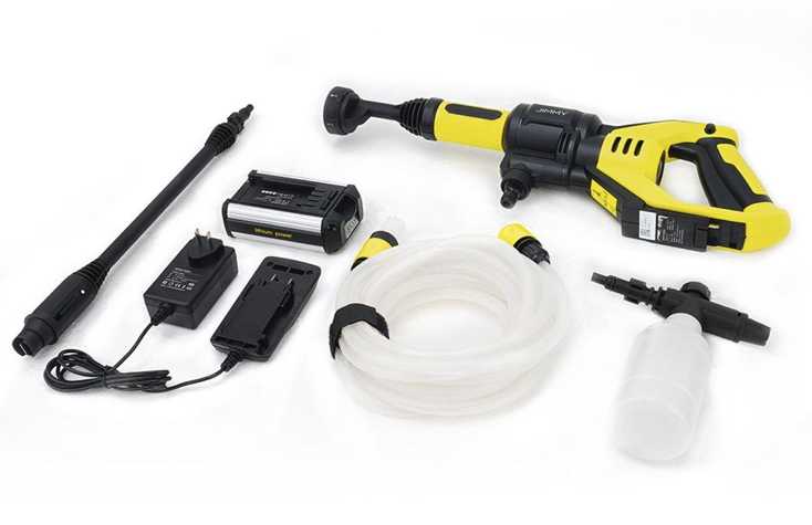 Handheld wireless karcher from Jimmy