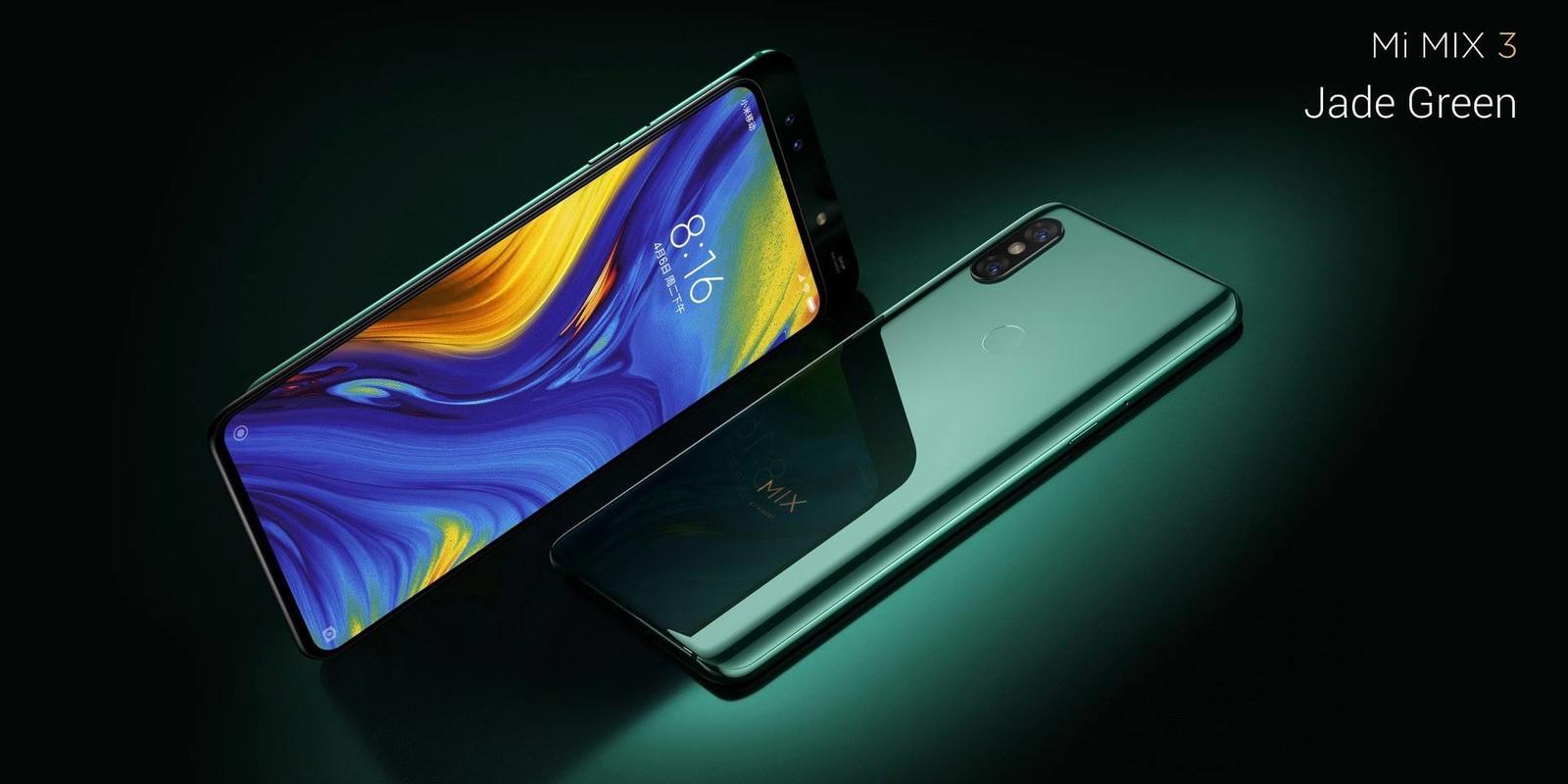 Xiaomi Mi Mix 3 oficjalna prezentacja