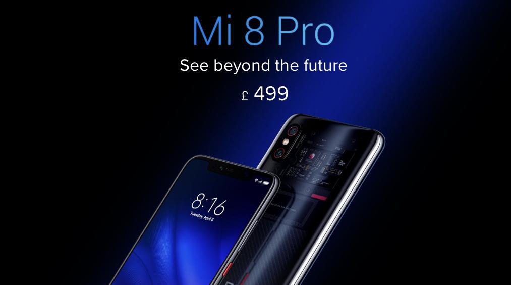 Xiaomi Mi 8 Pro presented in the UK, check the price
