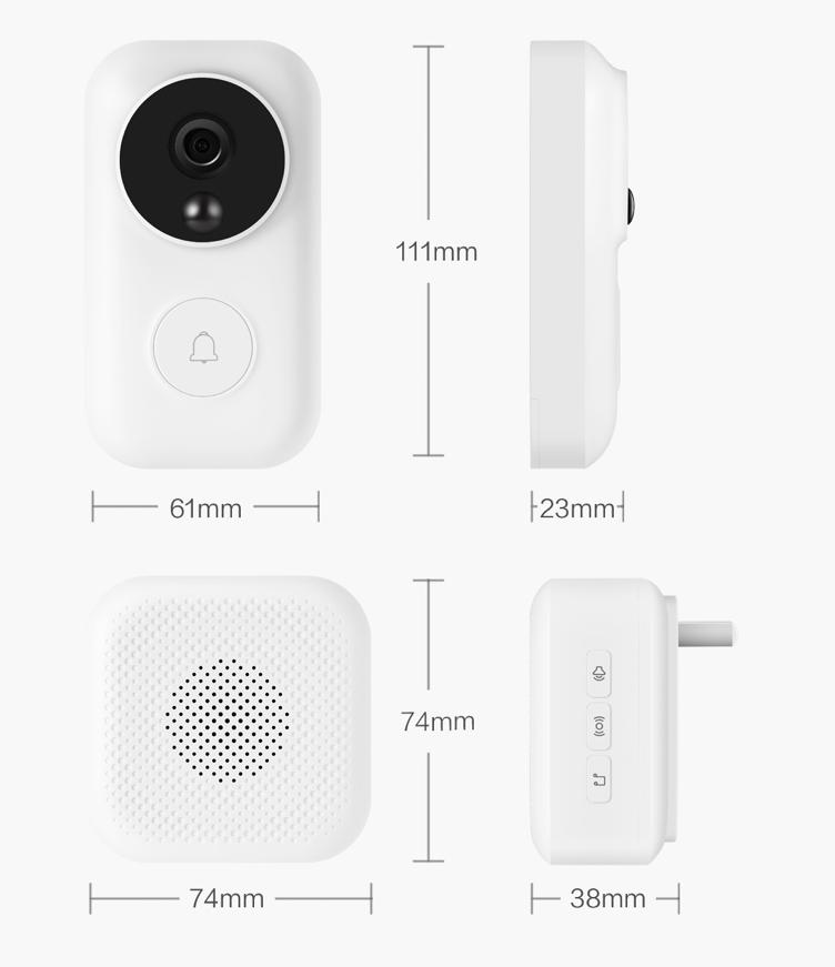 Inteligentny dzwonek do drzwi Xiaomi