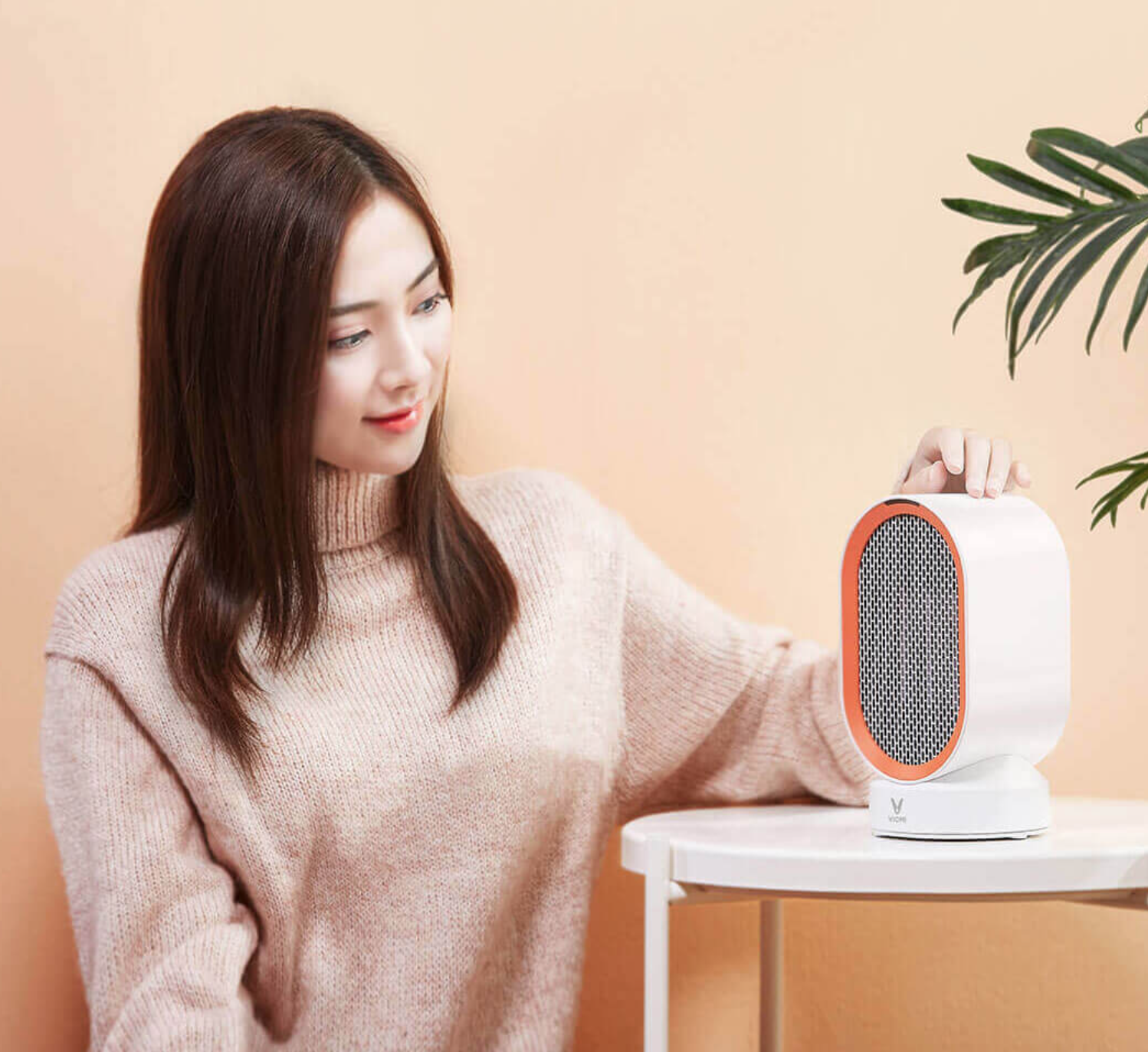 Viomi presents a rotating heater on the Youpin platform