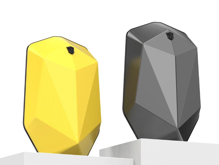 Transformers è uno zaino futuristico a forma di poliedro