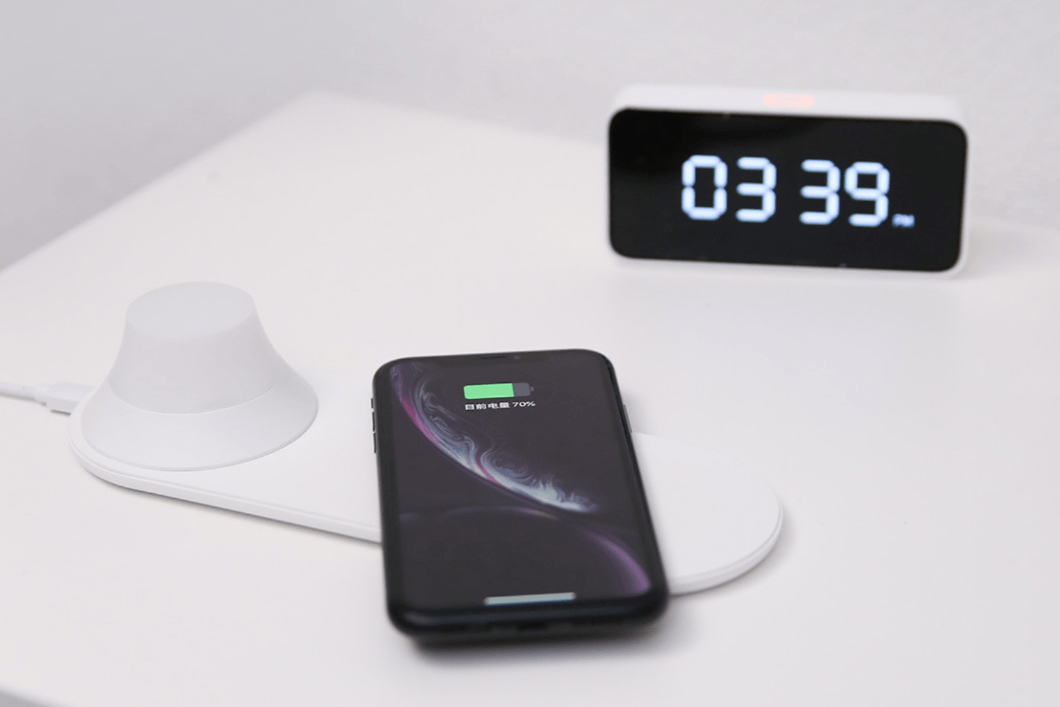 Yeelight induction charger with built-in night light