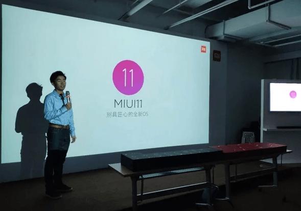 Xiaomi började arbeta med MIUI 11