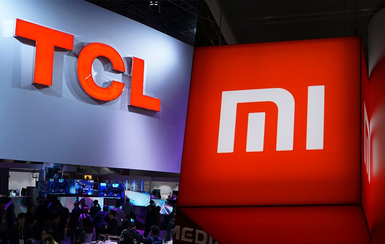 Xiaomi Group har köpt en TCL-kampanj som TV-apparater placeras i Polen