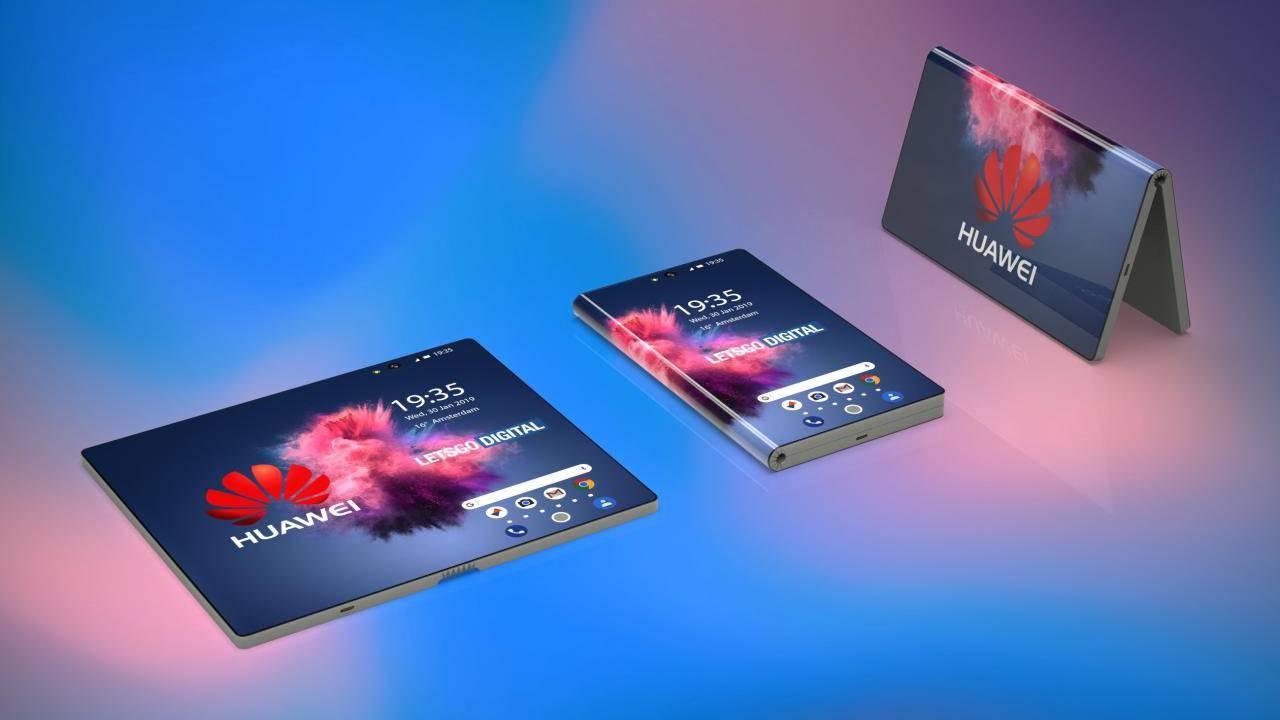 Huawei прадставіць першы смартфон складанага 24 лютага на MWC