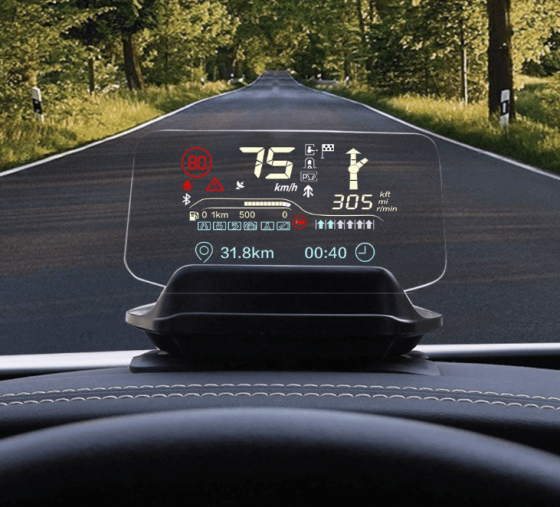 Xiaomi Carrobot HUD or Head Up Display for every car