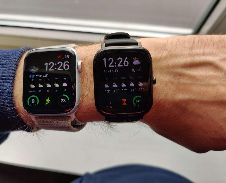 Amazfit GTS Apple Watch